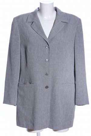 Long-Blazer hellgrau Webmuster Business-Look
