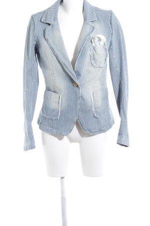 R Jeans Blazer vaquero blanco-azul oscuro look lavado