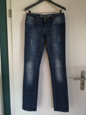R&R Black Pearl Tolle Jeans, 27/34