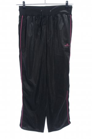 R Sport Sporthose schwarz-pink Casual-Look