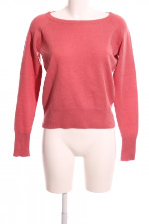 R95th Rundhalspullover pink Casual-Look