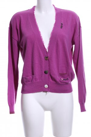 R95th Strick Cardigan pink Casual-Look