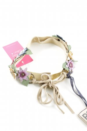 R95th Taillengürtel Blumenmuster Casual-Look