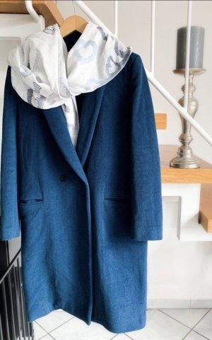 Claudie Pierlot Wool Coat blue cashmere