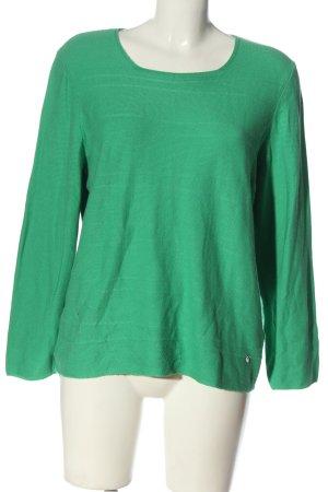 Rabe Feinstrickpullover grün Casual-Look