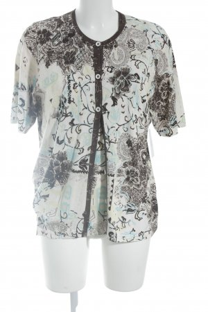 Rabe Jersey Twin Set florales Muster Vintage-Look