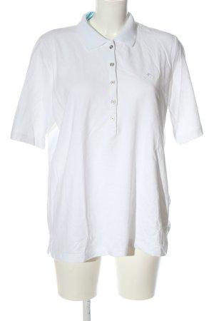 Rabe Polo-Shirt weiß Casual-Look