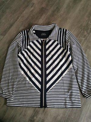 Rabe Shirt Jacket white-dark blue