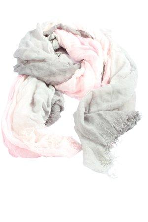 Rabe Écharpe d'été gris clair-rose style décontracté