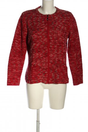 Rabe Strickjacke meliert Casual-Look