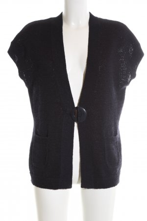 Rabe Strickjacke schwarz Casual-Look