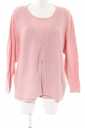 Rabe Strickjacke pink Casual-Look