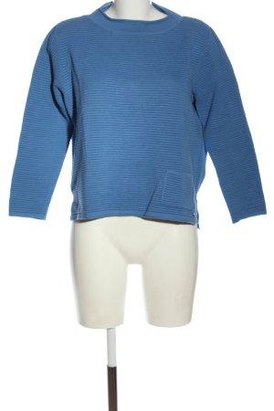 Rabe Strickpullover blau Casual-Look