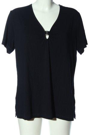 Rabe Strickshirt schwarz Casual-Look