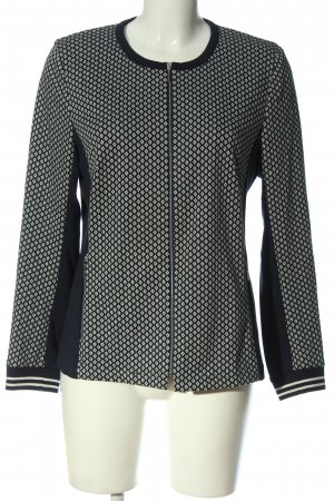 Rabe Sweat Jacket black-white allover print casual look