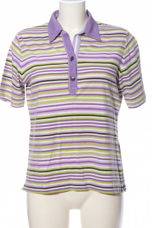Rabe T-Shirt Streifenmuster Casual-Look
