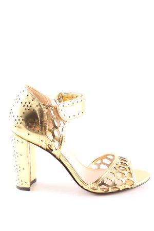 Rachel Zoe High Heels goldfarben Elegant