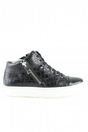 Rachel Zoe High Top Sneaker schwarz-weiß Casual-Look
