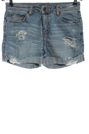 Rachel Zoe Pantaloncino di jeans blu stile casual