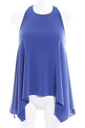 Rachel Zoe Top senza maniche blu-oro elegante