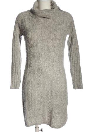 Rachel Zoe Sweater Dress light grey cable stitch casual look