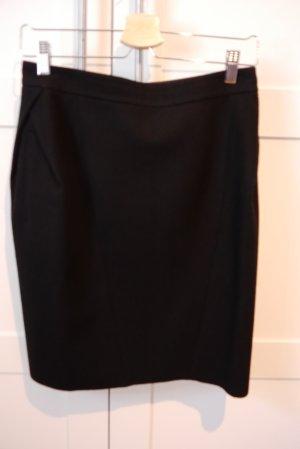 Rachel Zoe Rock Pencil skirt mit Details 36/38 schwarz fast NEU