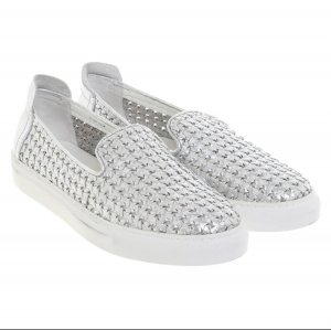 Rachel Zoe Sneaker slip-on bianco-argento Pelle