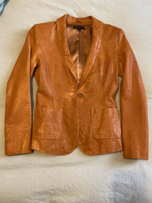 "Rachel Zoe ""Sullivan"" Leather Blazer, US 2"