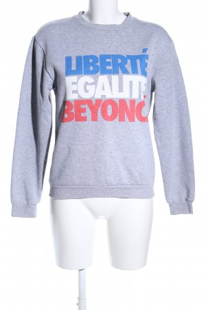 Rad. Sweatshirt meliert Casual-Look