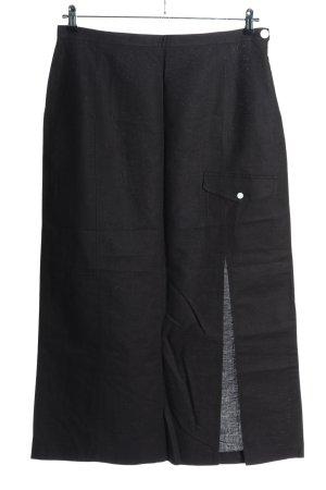 Radar Lniana spódnica czarny W stylu casual