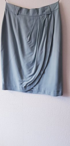 Radar Plaid Skirt slate-gray-pale blue