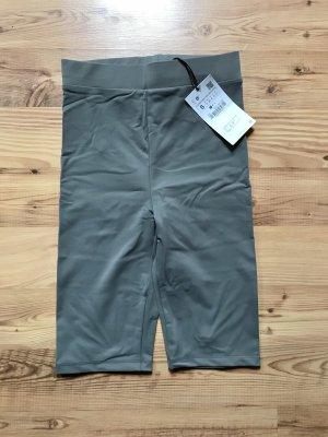 Zara High waist short lichtgrijs-grijs
