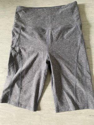 H&M Pantalón corto deportivo gris claro-gris