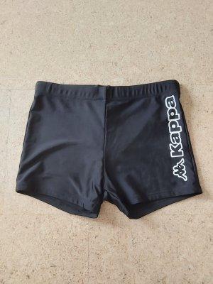 Kappa Sportbroek wit-zwart