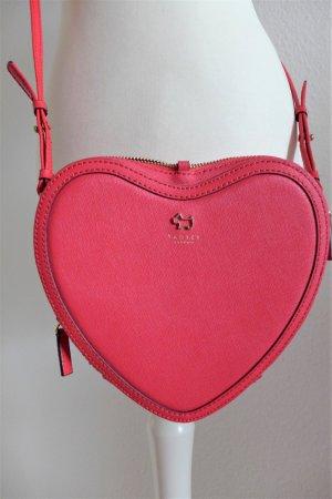 Radley London LE Crossbody Handtasche Heart Herz pink wie neu