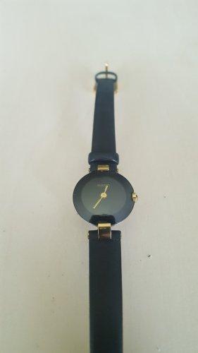 Rado Watch With Leather Strap black