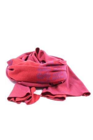 räder Bufanda de punto rosa look casual