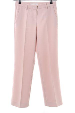 Raffaello Rossi Pantalon de costume rose style décontracté