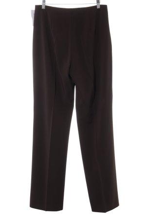 Raffaello Rossi Pantalon de costume brun foncé