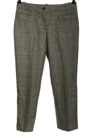 Raffaello Rossi Pantalon de costume gris clair motif à carreaux