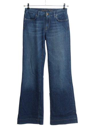 Raffaello Rossi Jeansy o kroju boot cut niebieski W stylu casual