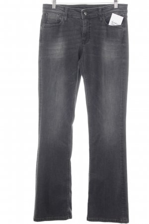 Raffaello Rossi Boot Cut Jeans dunkelgrau Casual-Look