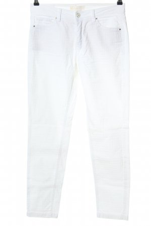 Raffaello Rossi Five-Pocket-Hose weiß Casual-Look