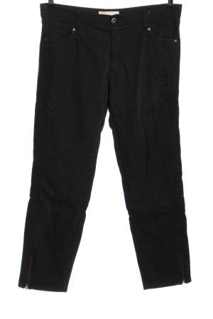 Raffaello Rossi Pantalon taille basse noir style décontracté
