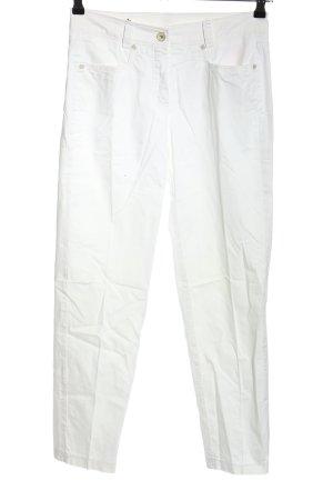 Raffaello Rossi Spodnie biodrówki biały W stylu casual