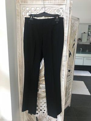 Raffaello Rossi Pantalon pattes d'éléphant noir polyester