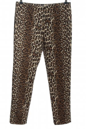 Raffaello Rossi Leggings Allover-Druck extravaganter Stil