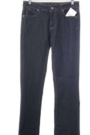 Raffaello Rossi Marlene Denim dark blue-camel casual look