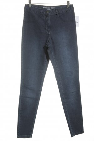 "Raffaello Rossi Skinny Jeans ""Amelie"" stahlblau"