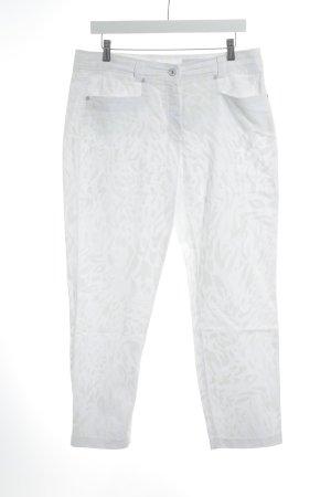 Raffaello Rossi Stoffhose weiß-creme Street-Fashion-Look